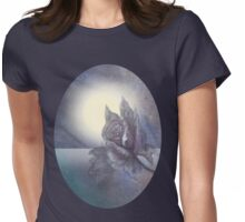 The Black Rose At Midnight Womens Fitted T-Shirt