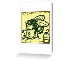 Bee Standing Greeting Card