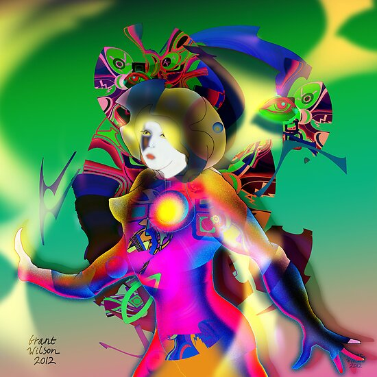 Colour Figure by Grant Wilson