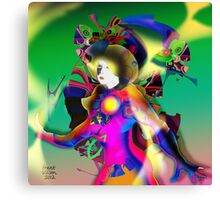 Colour Figure Canvas Print
