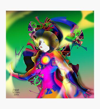 Colour Figure Photographic Print