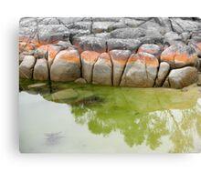 Binalong Bay Rocks, Tasmania, Australia. Canvas Print