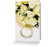 Wedding flowers Greeting Card