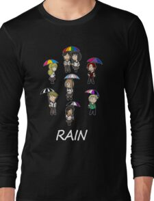 RAIN - Chibi Cast Long Sleeve T-Shirt