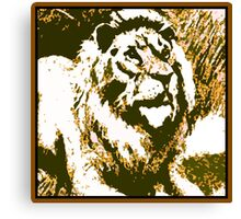 Strong Roar Canvas Print
