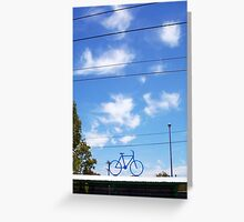 The Bicycle One - 13 11 12 Greeting Card