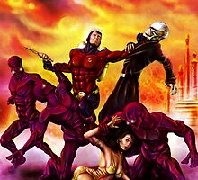 The Rocket Ranger and Red World of Death! by simonbreeze