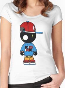Kid Ink Women's Fitted Scoop T-Shirt