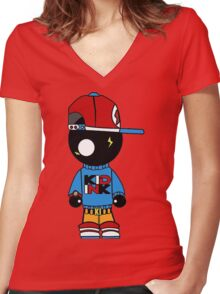 Kid Ink Women's Fitted V-Neck T-Shirt