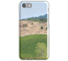 Vineyard Landscape iPhone Case/Skin