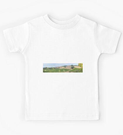 Vineyard Landscape Kids Tee