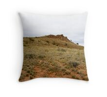 Barrier Ranges Throw Pillow
