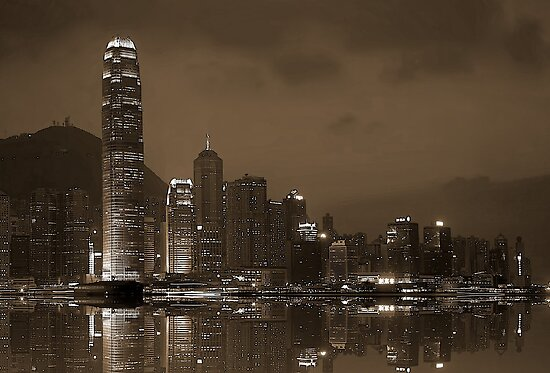 HK Island by Fern Blacker