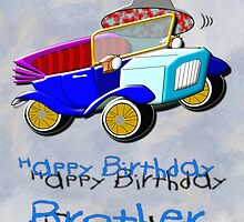 Flying High on Your Birthday Brother by Dennis Melling