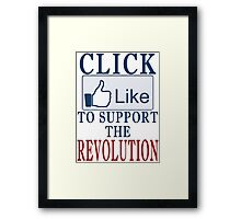 Digital Revolution Framed Print