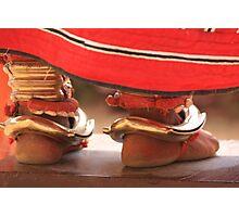 Indian Dancing Feet - Kerala Photographic Print