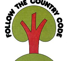 Follow the Country Code by redcow