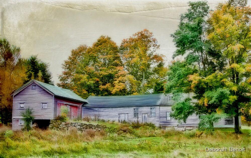 Olde Homestead on RT 105 by Deborah  Benoit