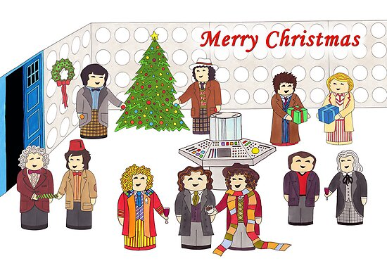 11 Doctors in the Tardis for Christmas by HappyDoctors