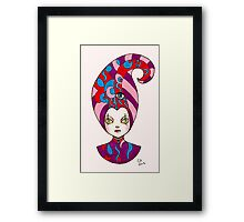 Nobodys Fool Framed Print