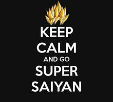 Keep Calm And Go Super Saiyan (Shirt & Stickers - Black) T-Shirt