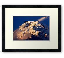 The Annapurnas, Himalayas - Nepal Framed Print