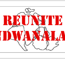 Reunite Gondwanaland! Sticker