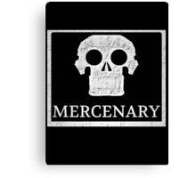 Send In The Mercenary  Canvas Print