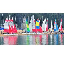 Sails trails. Photographic Print