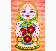 Russian Matruhska Nesting Doll in Colour Unisex T-Shirt