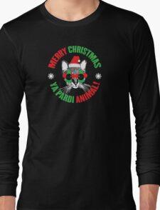 Merry Christmas Ya Pardi Animal Long Sleeve T-Shirt