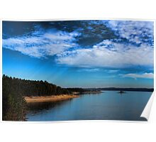 Broken Bow Lake Poster