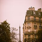 The Lady Beckons - Eiffel Tower by anniephoto