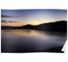 Sunrise At Broken Bow Lake Poster
