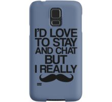 I Really Mustache   Samsung Galaxy Case/Skin