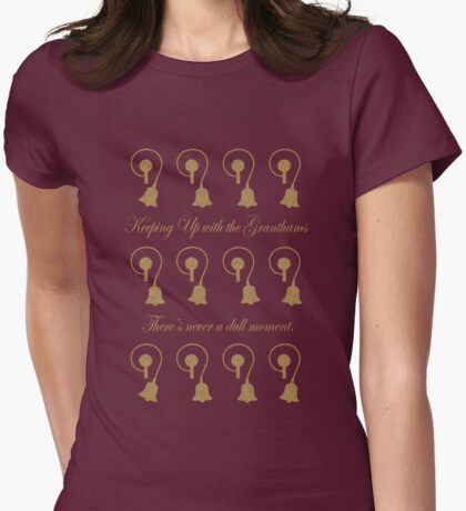 The Bells of Downton Abbey Womens Fitted T-Shirt