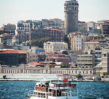 Galata Tower - Istanbul - Turkey by Erin McMahon