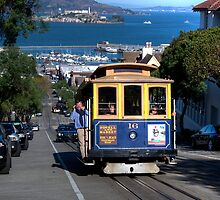 The Tram in San Francisco by Gerard Rotse