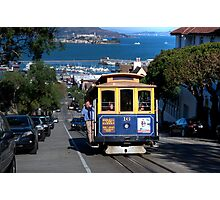 The Tram in San Francisco Photographic Print