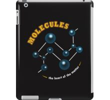 Molecules: The Heart of the Matter iPad Case/Skin