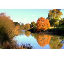 Autumn on the Medway Photographic Print