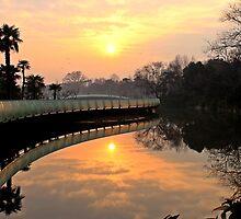 Sunrise, Tiamming Temple, Changzhou by DaveLambert