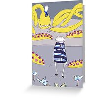 abduction Greeting Card