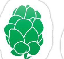Basic ingredients for beer symbols Sticker