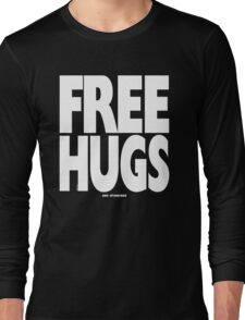 FREE HUGS AND SPANKINGS Long Sleeve T-Shirt