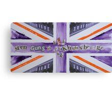 Sten Guns In Knightsbridge Canvas Print
