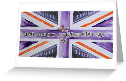 Sten Guns In Knightsbridge by dougshaw