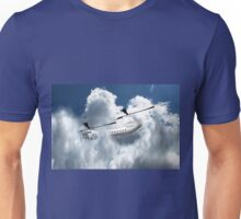 Chinook type Helicopter Descending into Cloud Unisex T-Shirt