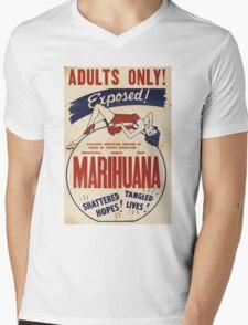 marihuana  Mens V-Neck T-Shirt