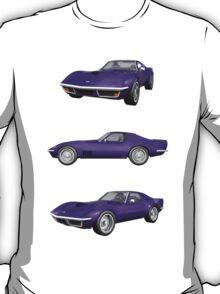 Purple 1970 Corvette T-Shirt